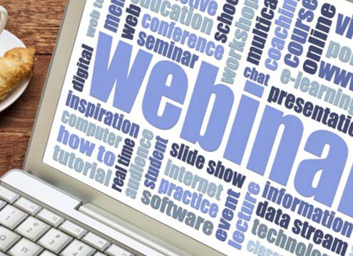 webinars marketing tool