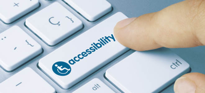 accessible website
