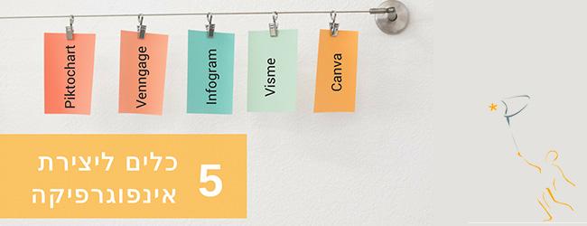 5 כלים ליצירת אינפוגרפיקה